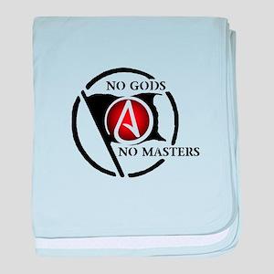 No Gods No Masters baby blanket