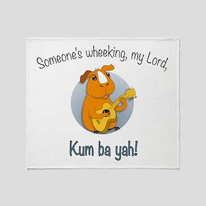 Kumbaya Guinea Pig Throw Blanket