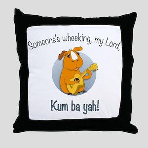 Kumbaya Guinea Pig Throw Pillow