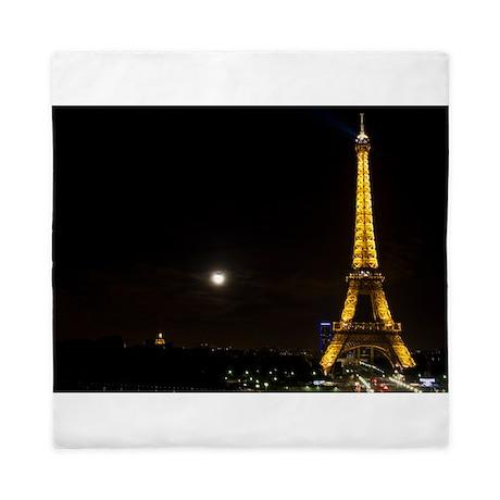 Eiffel Tower Queen Duvet