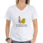 Mayan Calendar Women's V-Neck T-Shirt