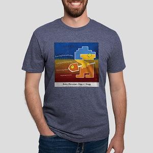 3-bm digg colored Mens Tri-blend T-Shirt