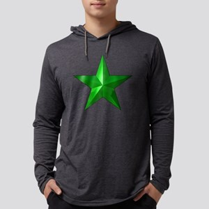 GreenStar001 Mens Hooded Shirt