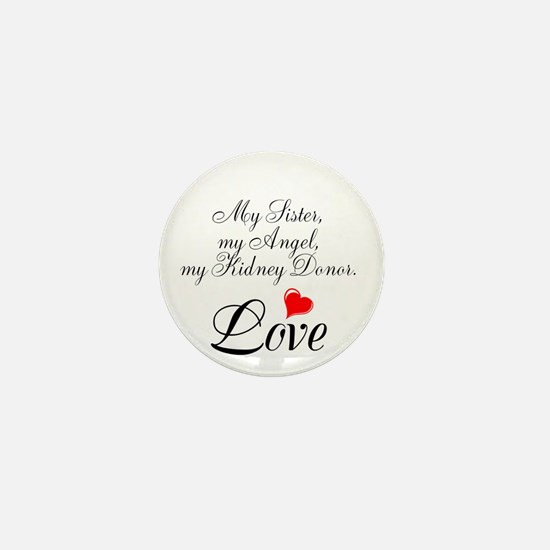 My Sister, my Angel Mini Button (100 pack)