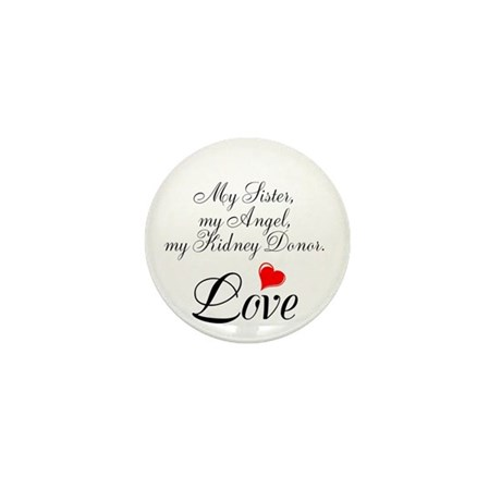My Sister, my Angel Mini Button (10 pack)