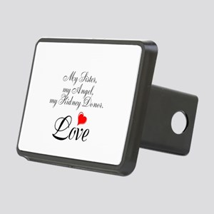 My Sister, my Angel Rectangular Hitch Cover