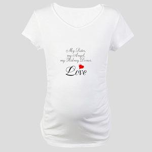 My Sister, my Angel Maternity T-Shirt