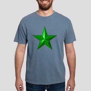 GreenStarButton Mens Comfort Colors Shirt