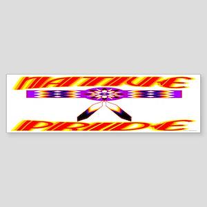 NATIVE PRIDE Sticker (Bumper)