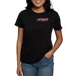 Women's Dark Breast Cancer T-Shirt
