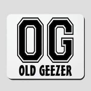 OG - Old Geezer Mousepad