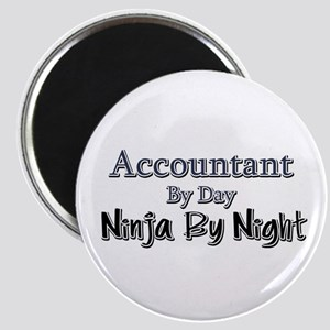Accountant by Day Ninja by Night Magnet