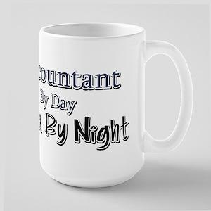Accountant by Day Ninja by Night Large Mug