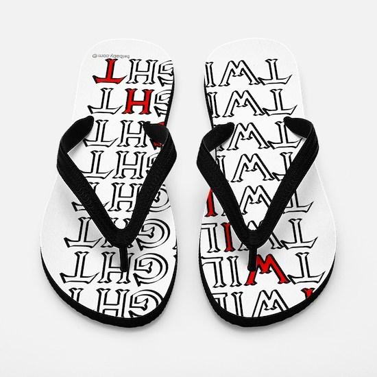 twilight text square copy.png Flip Flops