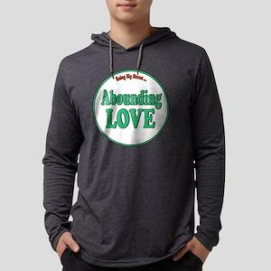 Abounding Love Fat Shirts Mens Hooded Shirt