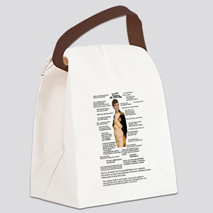 Bad Boss Canvas Lunch Bag