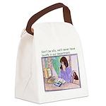 No Layoffs Canvas Lunch Bag