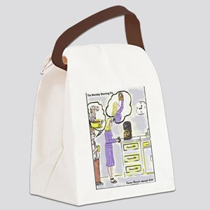Monday Morning Fix Canvas Lunch Bag
