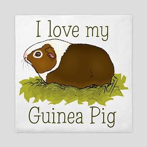 I Love my Guinea Pig Queen Duvet