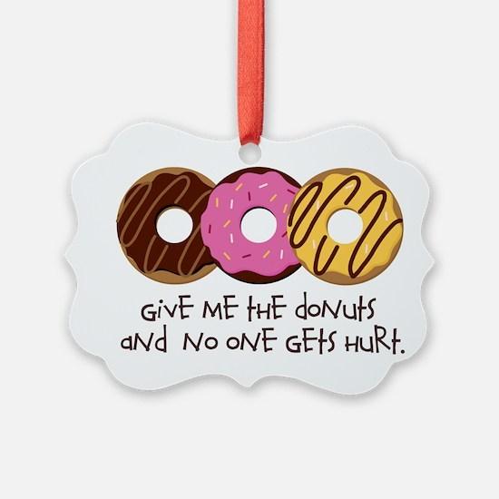 I love donuts! Ornament
