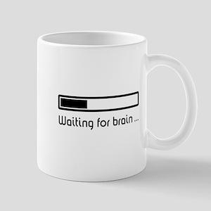 Waiting for brain ... (brain loading) Mug