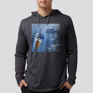 GlobalWarmg-9x9 Mens Hooded Shirt