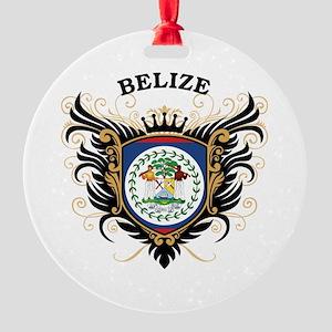 Belize Round Ornament