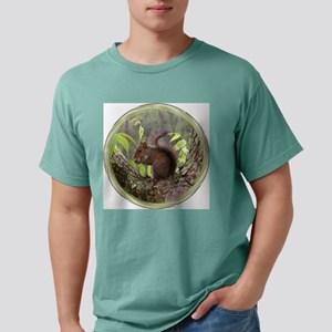 Squirrelly Redone Mens Comfort Colors Shirt