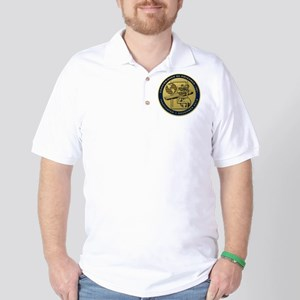 Gold CVN 65 Inactivation! Golf Shirt