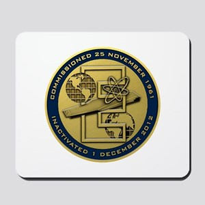 Gold CVN 65 Inactivation! Mousepad