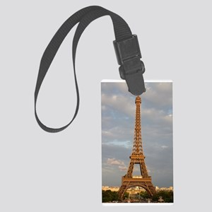 Eiffel Tower Large Luggage Tag
