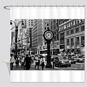 Fifth Ave - New York City Shower Curtain