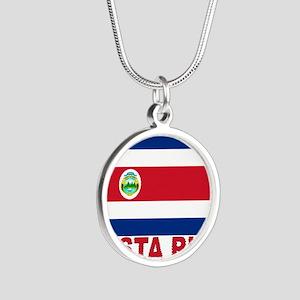 costa-rica_s Silver Round Necklace
