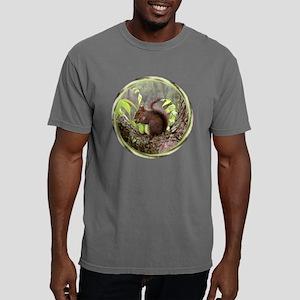 Squirrelly black Mens Comfort Colors Shirt