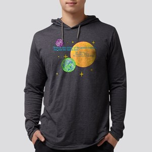 SpockMathQuote Mens Hooded Shirt