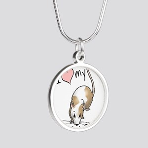 fancy-rat-new Silver Round Necklace