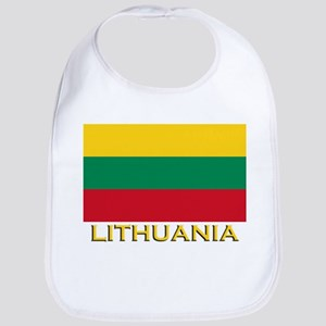 Lithuania Flag Merchandise Bib