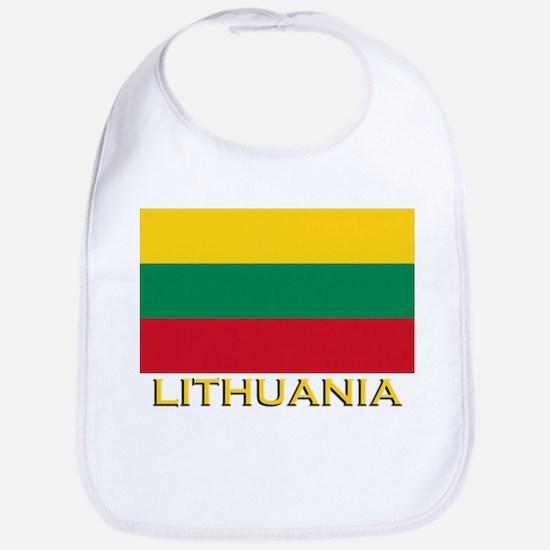 Lithuania Flag Merchandise Bib
