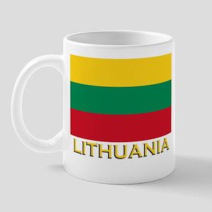 Lithuania Flag Merchandise Mug