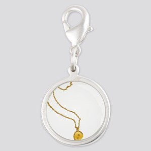 best-friend-gold-B.png Silver Round Charm