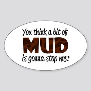'Mud' Sticker (Oval)