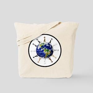 Greyhound around the world! Tote Bag