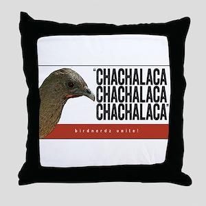 Chachalaca, Chachalaca Throw Pillow