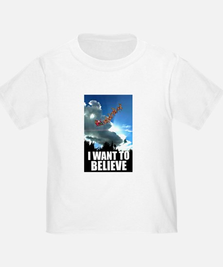 I WANT TO BELIEVE T