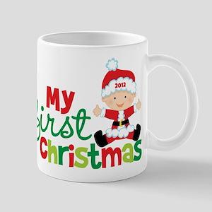 Baby Santa Babies First Christmas Mug