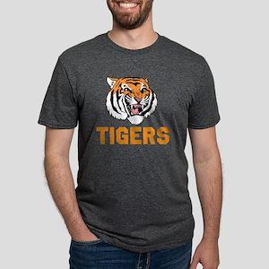 TIGERS Mens Tri-blend T-Shirt