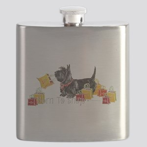 Scottie Shopping Flask