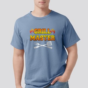 Grill Master Dark Apron Mens Comfort Colors Shirt