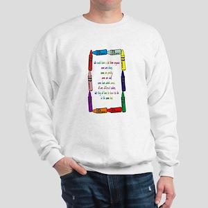 Crayons Sweatshirt