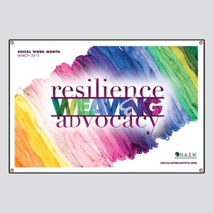 Weaving Resilience and Advocacy Banner